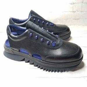 Camper Rex Sandals Mens Sneaker Black Leather 44